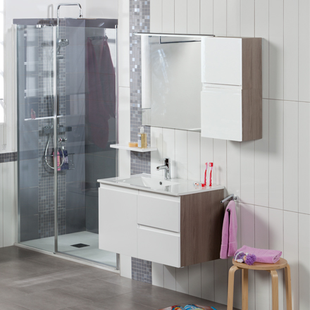 Muebles de ba o go combina como quieras grup gamma - Pintura para azulejos de bano ...