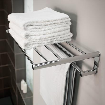 Accesorios de ba o dott elegancia y funcionalidad grup for Colgadores de toallas para ducha