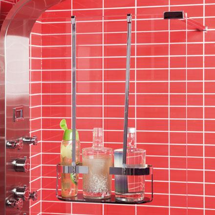 Accesorios de ba o dott elegancia y funcionalidad grup for Jabonera ducha colgar