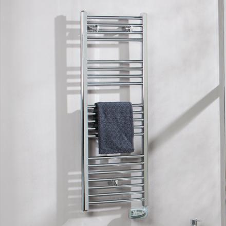 Radiador de baño Suki eléctrico cromado