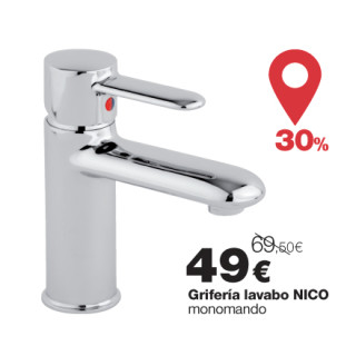 Grifo de lavabo Nico