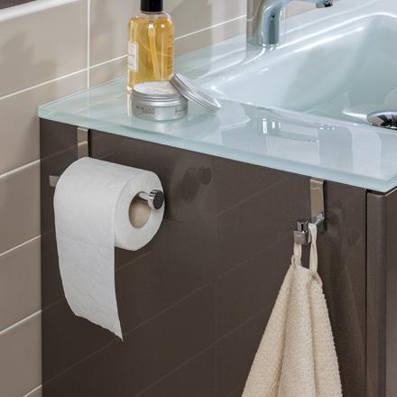Stop agujeros accesorios de ba o para mueble grup gamma for Perchas bano sin taladro