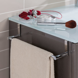 Stop agujeros accesorios de ba o para mueble grup gamma for Toalleros de bano sin taladro