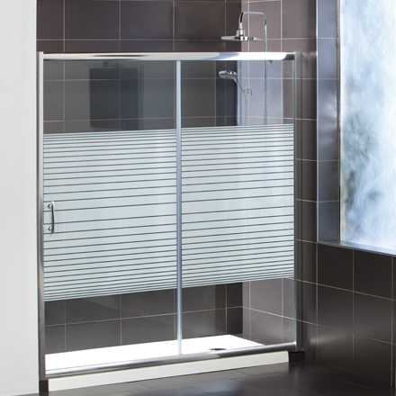 3 estilos de mampara para cambio de ba era por ducha for Tipos de mamparas para platos de ducha