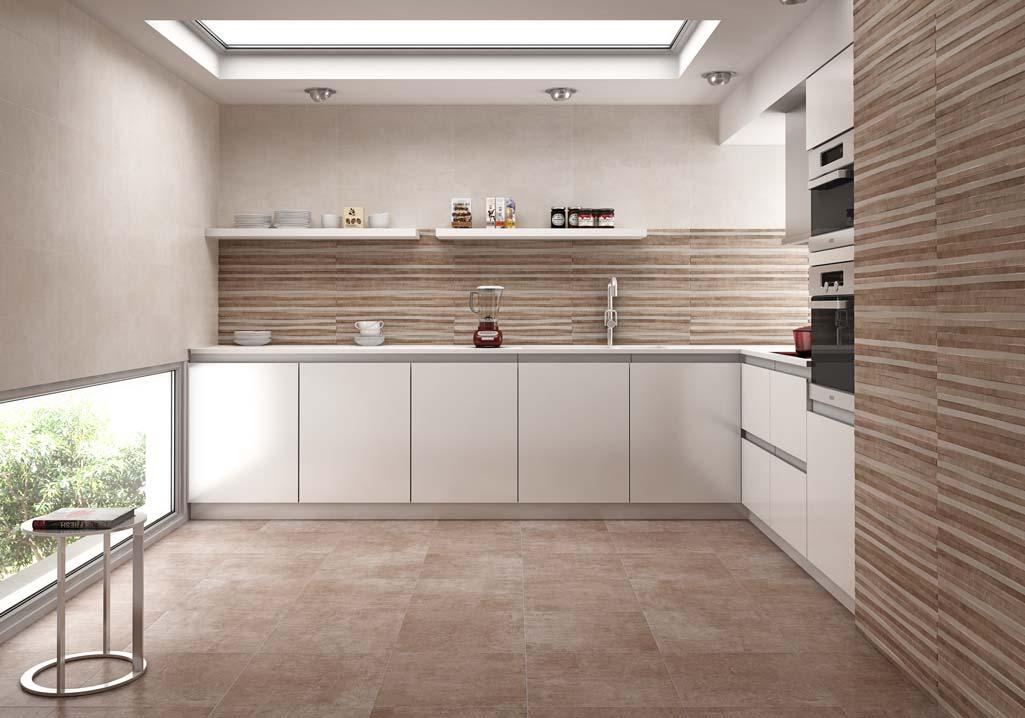 Las cer micas terradecor marcan tendencia grup gamma for Modelos ceramica para pisos cocina