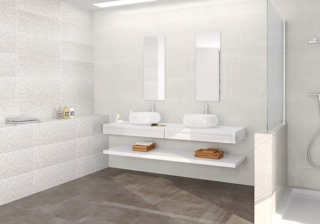 Baño estilo-nórdico en color -blanco-con mueble-minimo.