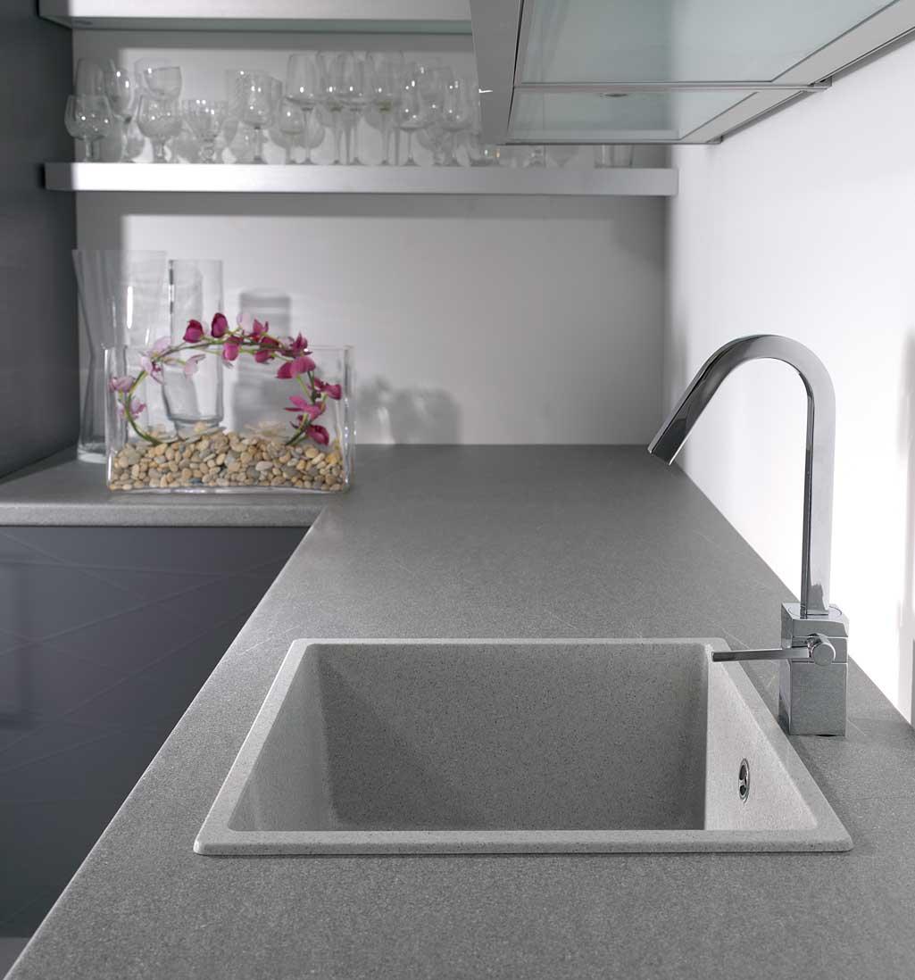 C mo elegir el fregadero de cocina grup gamma for Material encimera cocina