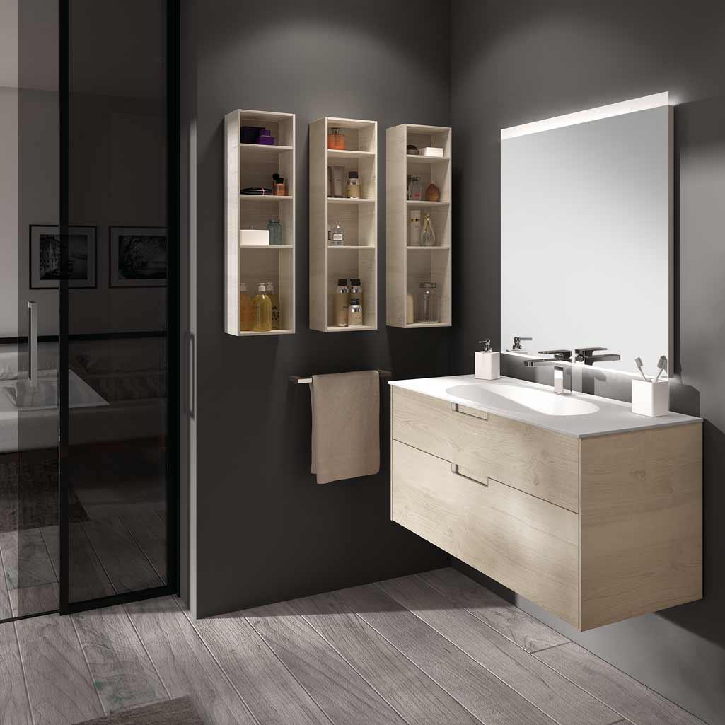 Muebles auxiliares, los aliados para tu baño - Grup Gamma