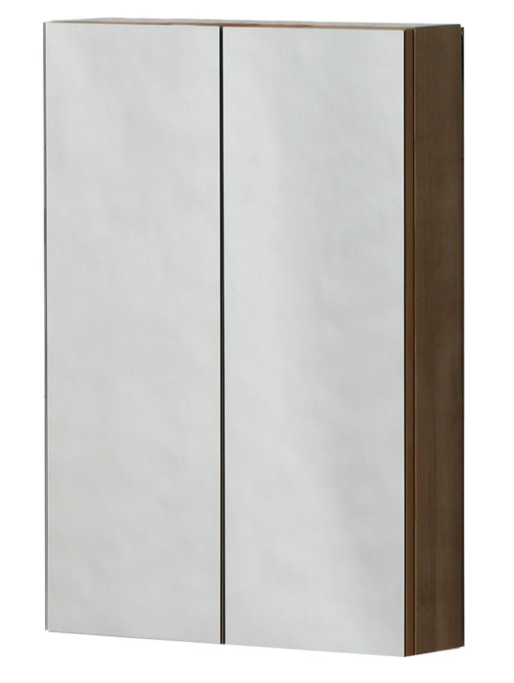 Espejo Camerino cerrado. Se aprecian los dos espejos que lo forman.