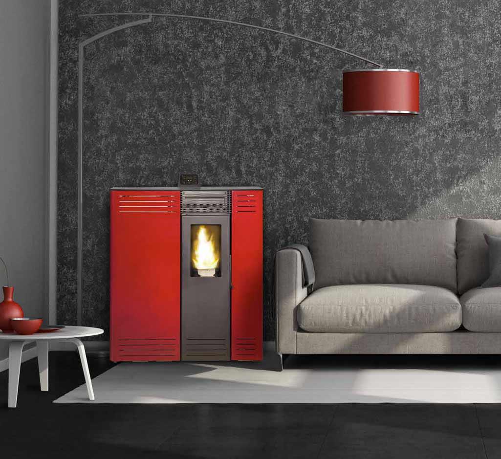 Estufas de pellet compactas para los pasillos de casa - Estufas para bano ...
