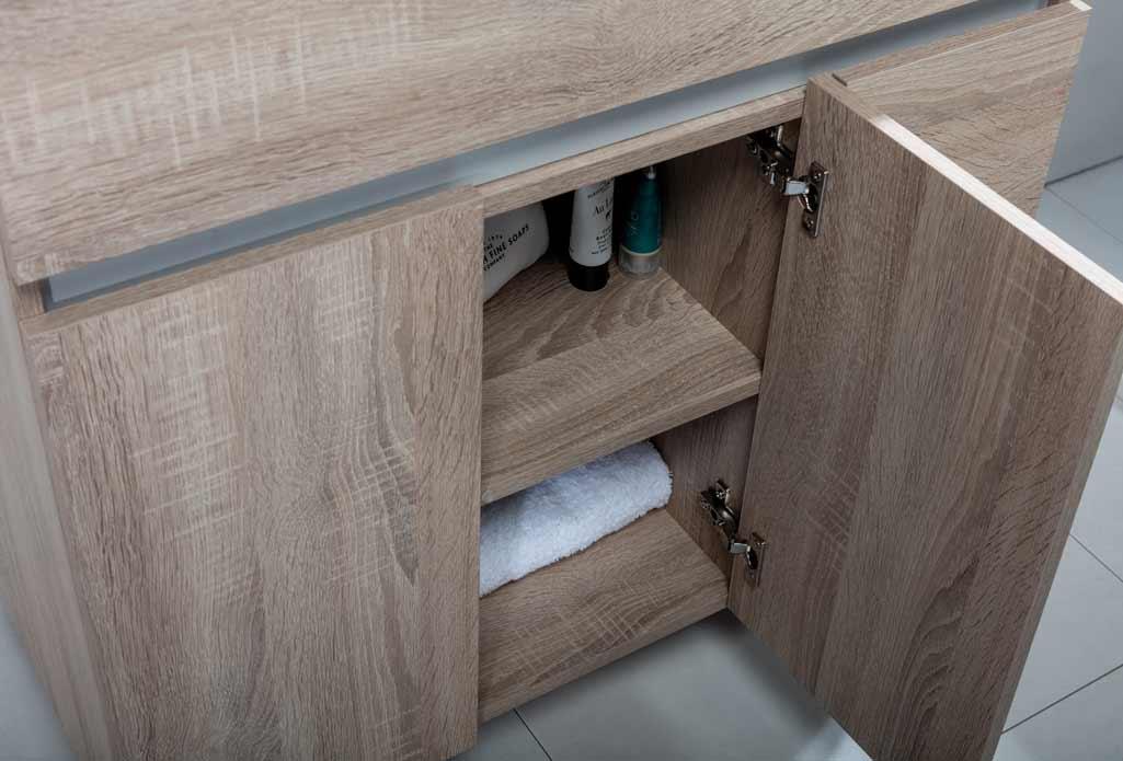 Mueble MATTY de Tattom de Grup Gamma donde se aprecia el detalle del interior del mueble.