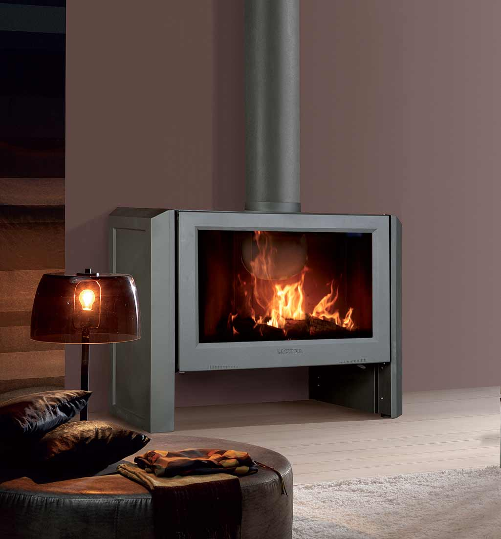 Chimeneas y estufas calor de hogar grup gamma for Decoracion chimeneas de lena