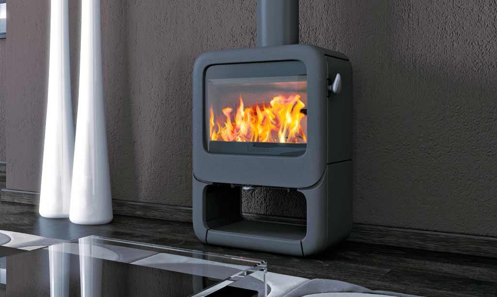 Chimeneas y estufas calor de hogar grup gamma - Chimeneas para salon de lena ...