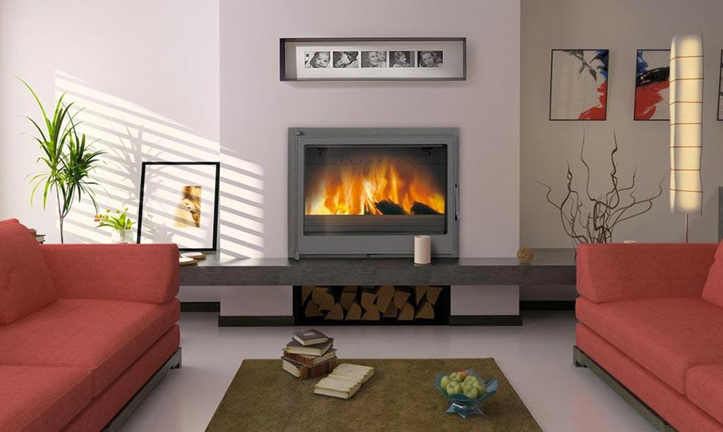 Puedo instalar una chimenea en casa gammaracionero - Como colocar una chimenea de lena ...