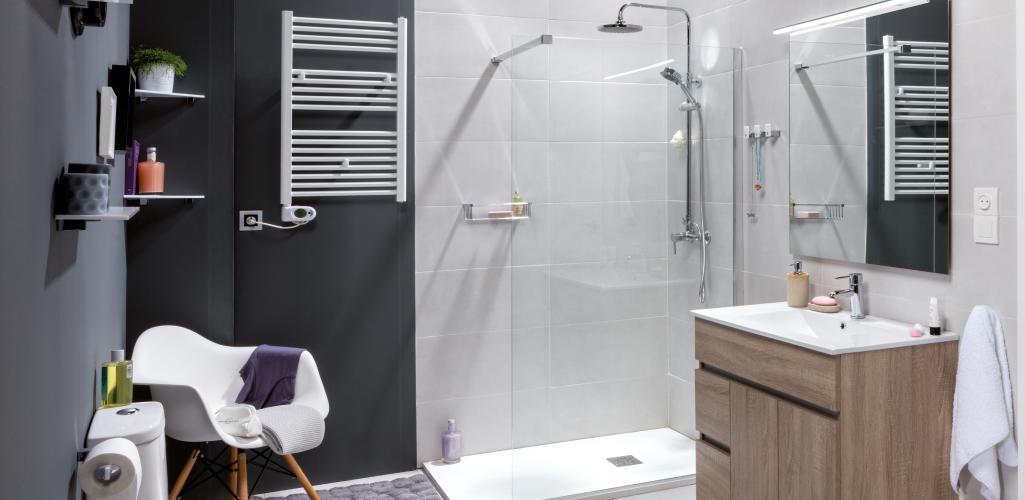 El color gris en el cuarto de baño - Grup Gamma