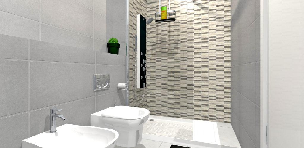 El color gris en el cuarto de baño  GAMMA Azara