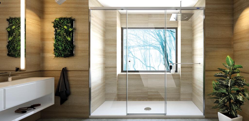 El baño de tus sueños. La ducha de tus sueños. Ducha perfecta. Baños funcionales.