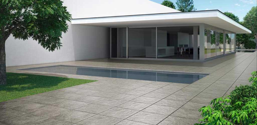 Cer micas para vestir terrazas grup gamma - Ceramica para exteriores ...