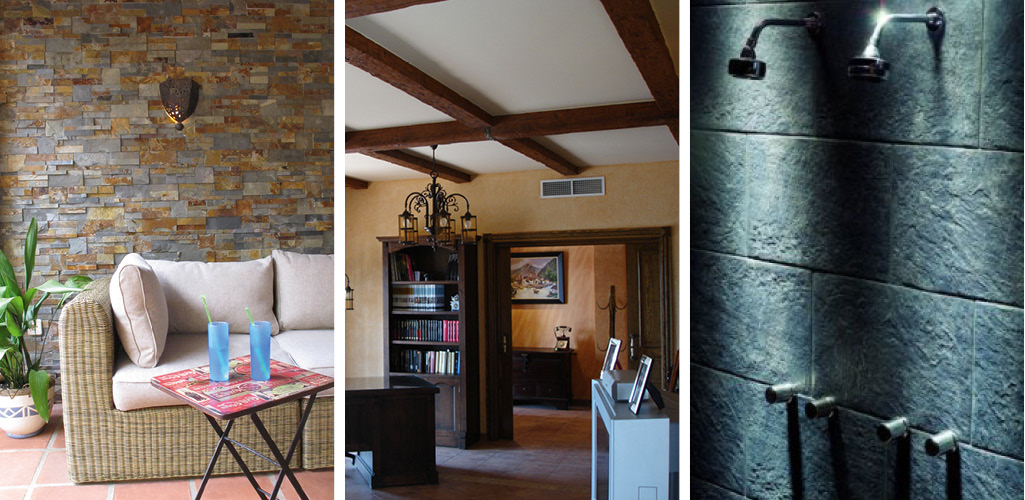 Los ba os r sticos estilos tradicionales que se vuelven for Estilo rustico moderno caracteristicas