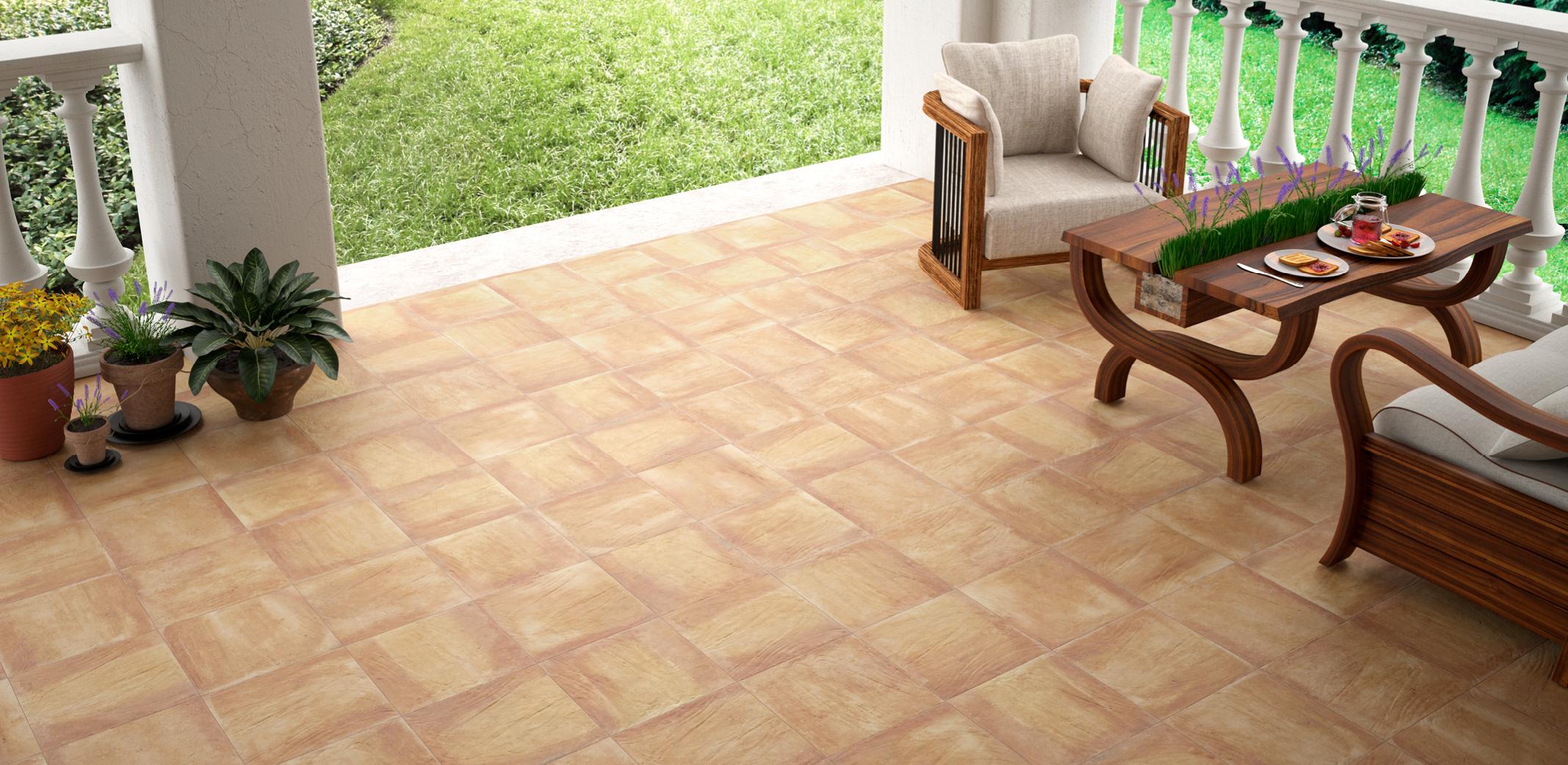 Pensando en c mo decorar la terraza empieza por la for Ceramicas para pisos exteriores precios
