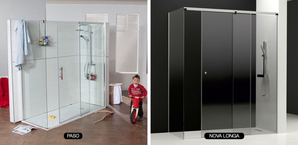 Mampara para ducha una elecci n compleja gamma azara for Mamparas para duchas fotos