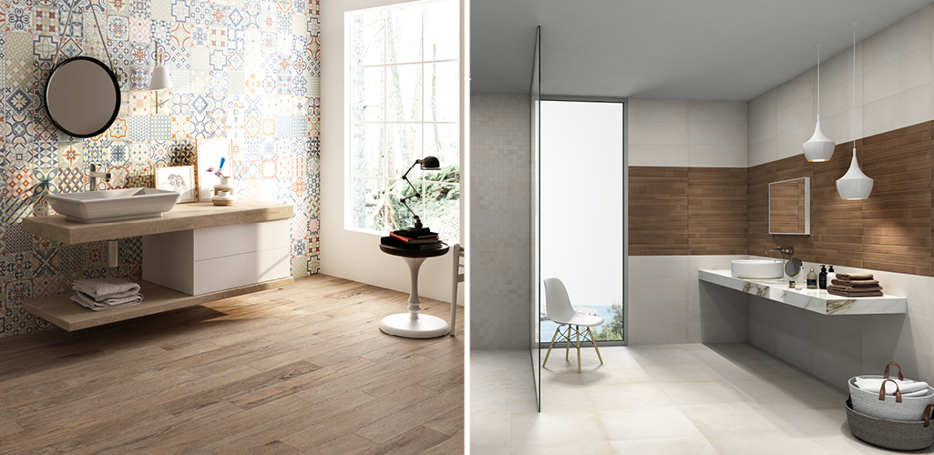 3 formas de usar revestimientos en la distribuci n del ba o grup gamma - Revestimientos para duchas ...