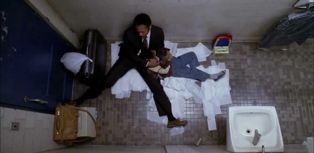 escenas en el baño
