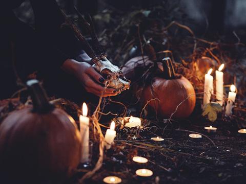 ideas para Halloween, decoración de Halloween, Halloween en tu baño