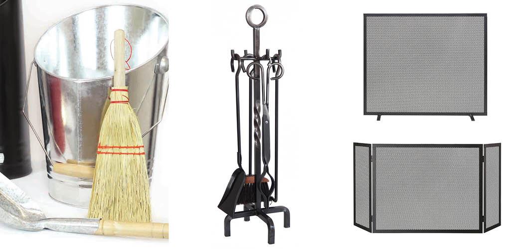 chimenea, accesorios chimenea, limpieza chimenea