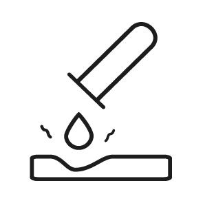 Cerámica resiste ácidos: comprobación de resistencia a 3 químicos habituales: productos de limpieza, ácidos y alcalinos. Cumple con la normativa UNE-EN ISO 10545-13:48.