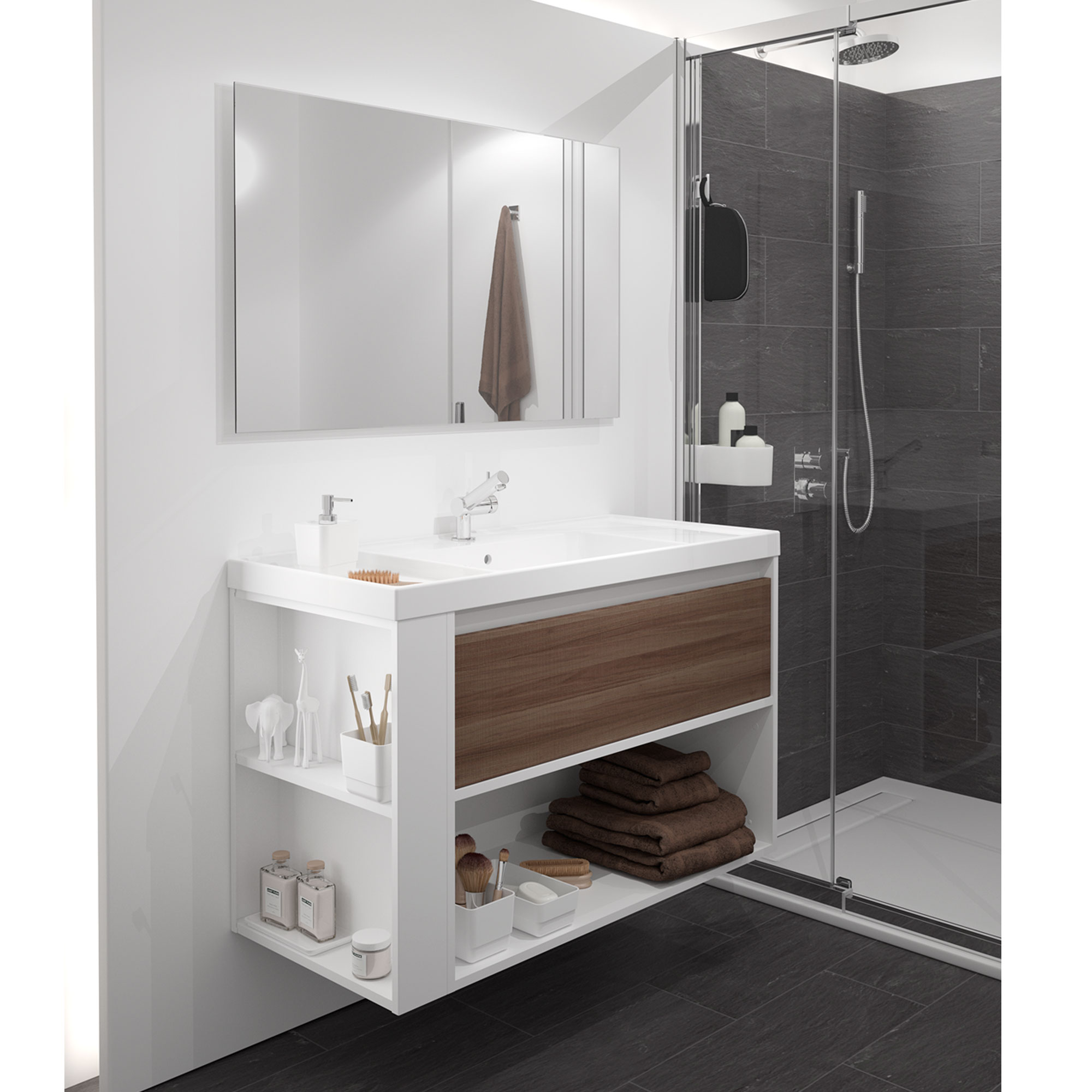 Muebles de baño SMART-B by Cosmic