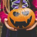 decoración de Halloween para el baño