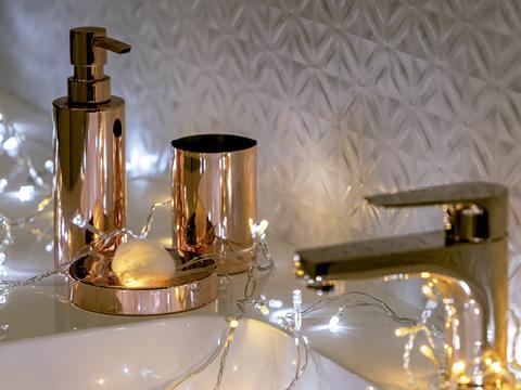 decoración navideña para baños, decoración navideña