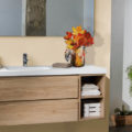 Decoración de otoño, decoración para baños,