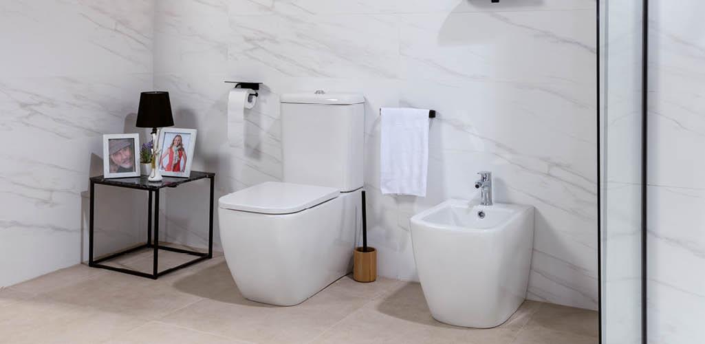 Tendencias en baños este 2019. El mármol va a ser lo más para tu baño.