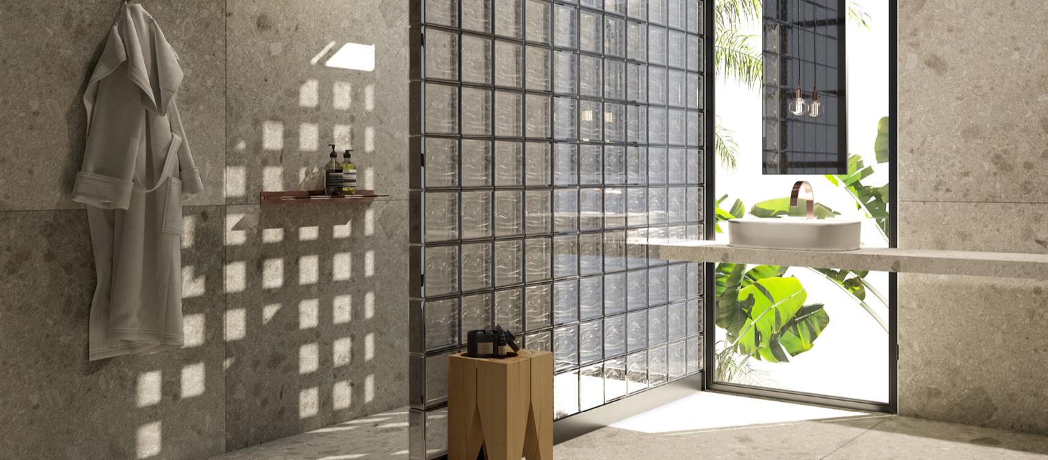Bloques De Vidrio Para El Baño Una Buena Opción Para Baños Grup Gamma