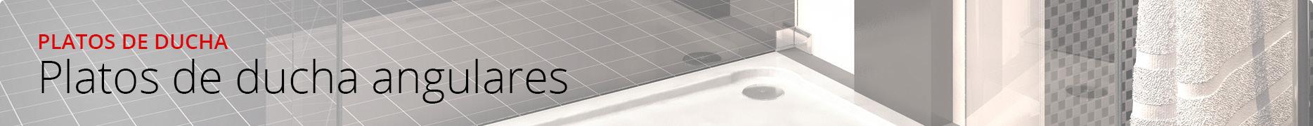 Platos de ducha angulares