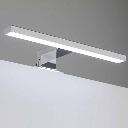 Aplique de baño LED Baho ABS 30 cm cromado luz fría