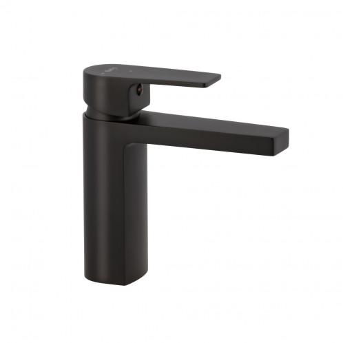 Grifo PLANO de lavabo negro