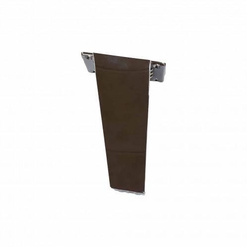 Patas de mueble de baño personalizable Baho VINTAGE negras 12 cm 4 uds