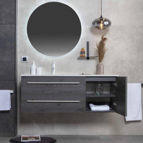 Espejo de baño retroiluminado LED Baho MOONLIGHT redondo 75 cm