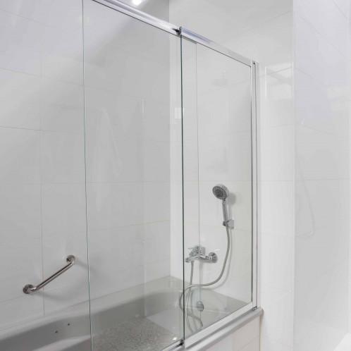 Mampara BATH de bañera transparente 100 cm