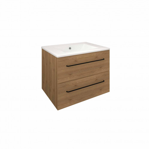 Mueble LUCID alerce marrón 2 cajones 60 cm
