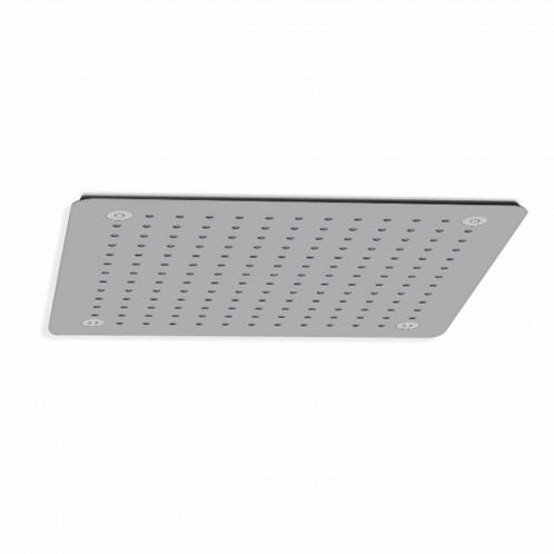 Rociador de ducha cuadrado Baho ROOF cromado 40x40 cm a techo