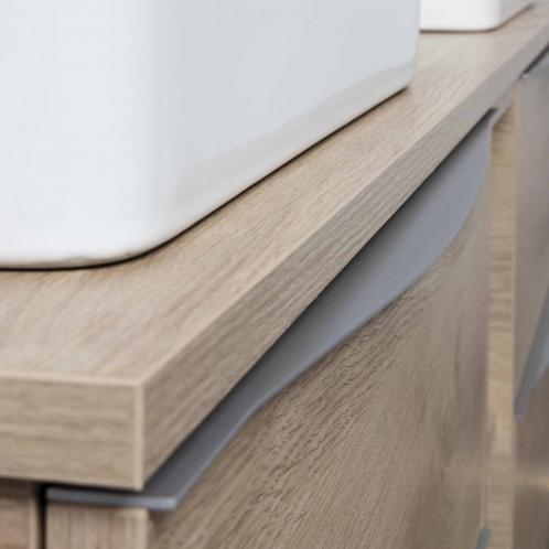 Tirador LUCCA de mueble aluminio mate 60 cm