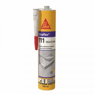 Cartucho Sikaflex 111 adhesivo y sellador negro