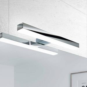 Aplique FOCO LED cromo luz led 30 cm