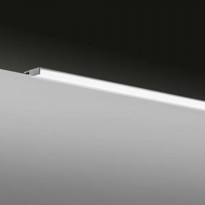 Aplique de baño LED Baho SOL 80 cm cromado luz neutra