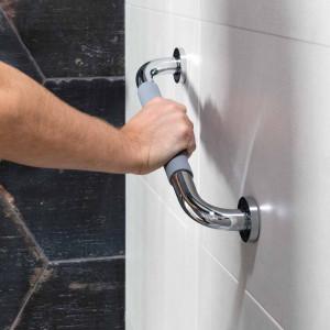 Asa RUBBER para bañera y ducha cromo 40,2 cm