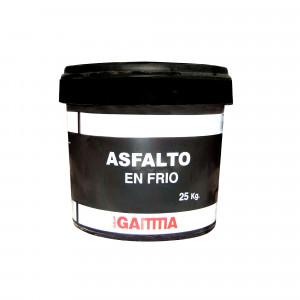 Asfalto Sorigue Gamma en frío 25 kg